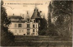 St-Just - Chateau de Chambon - Facade Sud - Chambon