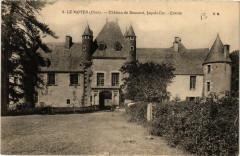 Le Noyer Chateau de Boucard, facade Est - Entrée - Le Noyer