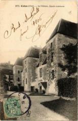 Culan Le Chateau, facade Intérieure 18 Culan