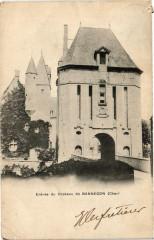 Bannegon Entrée du Chateau - Bannegon