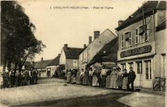 Chalivoy-Milon Place de l'Eglise - Chalivoy-Milon