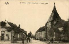 Farges-en-Septaine Place de l'Eglise - Farges-en-Septaine