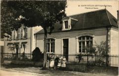 Savigny-en-Septaine Mairie et Ecole - Savigny-en-Septaine