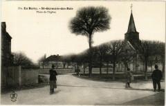 En Berry. Saint-Germain-des-Bois Place de l'Eglise - Saint-Germain-des-Bois