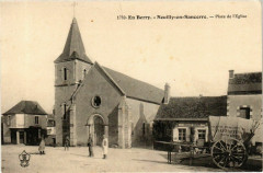 En Berry. Neuilly-en-Sancerre Place de l'Eglise - Neuilly-en-Sancerre