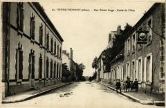 Henrichemont Rue Victor-Hugo Ecole de Filles - Henrichemont