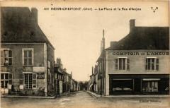 Henrichemont La Place et la Rue d'Anjou - Henrichemont
