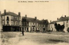 En Berry. Gracay Place du Marché coté Sud - Graçay