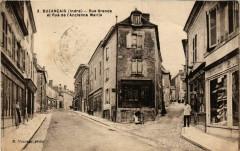 Buzancais Rue Grande et Rue de l'Ancienne Mairie - Buzançais