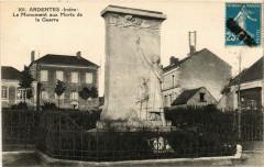 Ardentes - Le Monument aux Morts de la Guerre - Ardentes