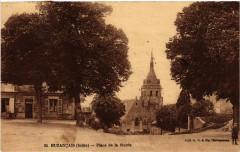 Buzancais - Place de la Mairie - Buzançais