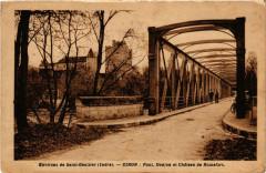 Env. de St-Gauitier - Ciron Pont Donjon et Chateau - Ciron