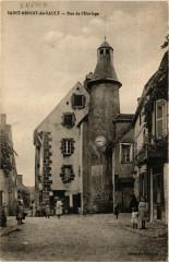 Saint-Benoit-du Sault - Rue de l'Horloge - Saint-Benoît-du-Sault