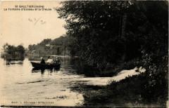 Saint-Gaultier - La Fontaine d'USSEau et la Creuse - Saint-Gaultier