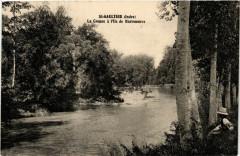 Saint-Gaultier - La Creuse a L'Ile de Barreneuve - Saint-Gaultier
