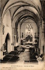 Aigurande - Intérieur de l'Eglise - Aigurande