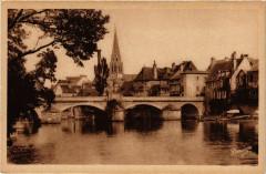 Argenton-sur-Creuse - Le Pont sur a Creuse l'Eglise - Argenton-sur-Creuse