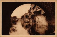 Argenton-sur-Creuse - Vieilles Maisons et la Creuse - Argenton-sur-Creuse