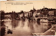 Argenton-sur-Creuse - Vieilles Galeries - Rive gauche de la Creuse - Argenton-sur-Creuse