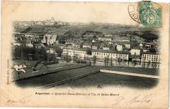 Argenton - Quartier Saint-Etienne et Vue de Saint-Marcel - Saint-Marcel