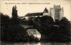 Chateaux de l'Indre - Ciron - Chateau de Romefort avec le Moulin - Ciron