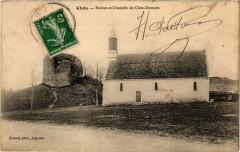 Cluis - Ruines et Chapelle de Cluis-Dessous - Cluis