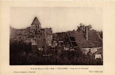 Grande Guerre 1914-1916 - Oulches - Vue sur le Clocher - Oulches
