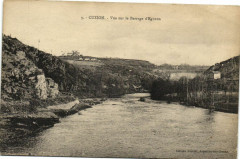 Cuzion - Vue sur le Barrage d'Eguzos - Cuzion