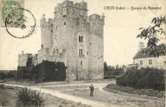 Ciron - Donjon de Romefort - Ciron