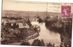 Argenton-sur-Creuse - Vue des bords de la Creuse - Argenton-sur-Creuse