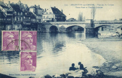 Argenton-sur-Creuse Vue sur la Creuse - Vieux Pont et Vieilles 36 Argenton-sur-Creuse