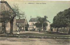 Ambrault - Place de l'Eglise - Ambrault