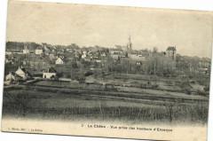 La Chatre - Vue prise des hauteurs d'Everjon - La Châtre