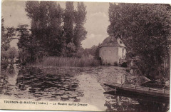 Tournon-Saint-Martin - Le Moulin sur la Creuse - Tournon-Saint-Martin