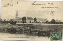 Déols - Vue générale de Abbaye - Déols