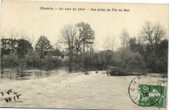 Chabris - Un Coin du Cher - Vue prise de l'Ile du Roc - Chabris