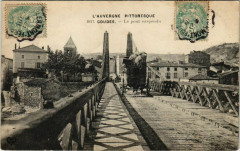 Coudes - Le Pont suspendu - Coudes