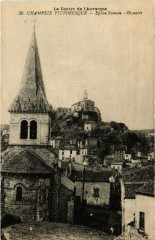 Champeix - Eglise romane - Ossuaire - Champeix