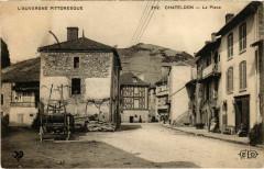 Chateldon - La Place - Châteldon
