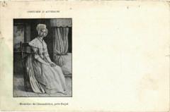 Costumes d'Auvergne - Meuniere de Chamalieres pres Royat - Chamalières