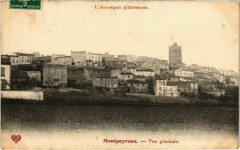 Montpeyroux - Vue générale - Montpeyroux