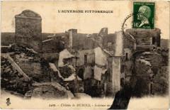 Chateau de Murols - Interieur des Prime 63 Murol