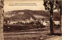 Vollore-Montagne - Vue générale prise de la Route d'Augerolles - Vollore-Montagne