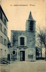 Saint-Maurice - L'Eglise - Saint-Maurice
