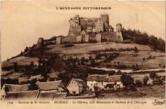 Murols Chateau cote Renaissance et Hameau de la Chassagne - Chassagne