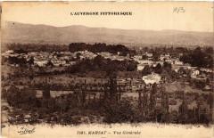 L'Auvergne Pittoresque Marsat vue générale - Marsat