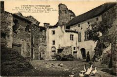 L'Auvergne Pittoresque Le Broc Ruines du Chateau - Le Broc