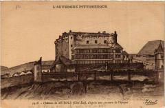 Chateau de Murols s'apres une gravure de l'epoque 63 Murol
