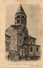 Saint-Saturnin L'Abside de l'Eglise - Saint-Saturnin