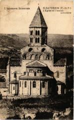 L 'Auvergne Illustrée Saint-Saturnin Eglise et l'ancien Cimetiere - Saint-Saturnin